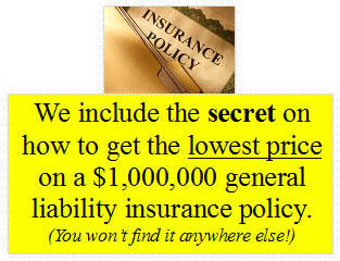lowest price California private investigator liability insurance