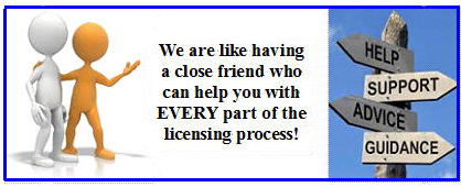 ACO license application assistance