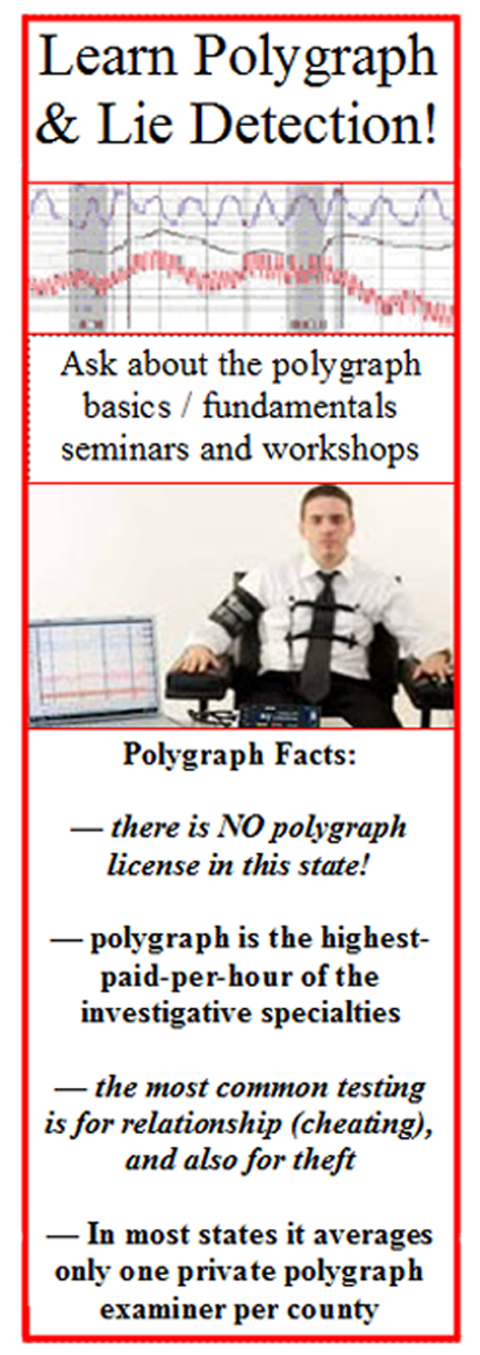 Learn polygraph in Kansas