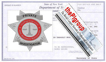 New York Watch Guard Patrol agency license examination
