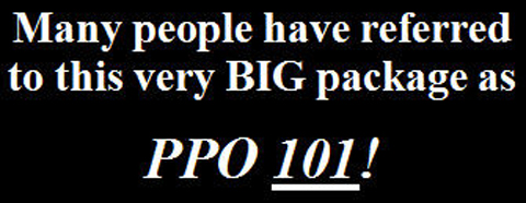 prepare for the PPO test with our PPO 101 / PPO Bible