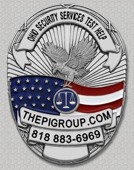 Ohio Security Guard Company License Examination Test