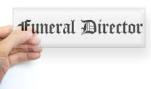 Funeral Director examination California