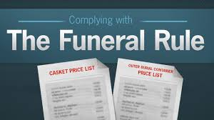 California federal Funeral Rule test questions