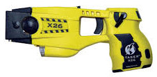 security guard taser